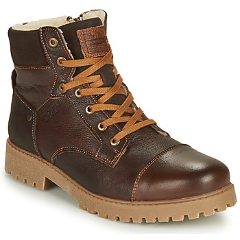Chaussures Garçon Boots Bullboxer ALL518E6LA-BRWN Marron