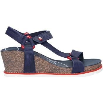 Chaussures Femme Sandales et Nu-pieds Panama Jack Violet Navy B1 Azul