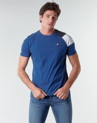 Vêtements Homme T-shirts manches courtes Le Coq Sportif ESS TEE SS N°10 M Bleu