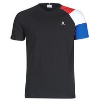 Vêtements Homme T-shirts manches courtes Le Coq Sportif ESS TEE SS N°10 M Noir