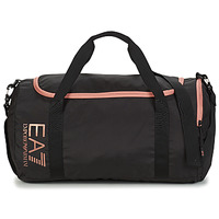Sacs Femme Sacs de sport Emporio Armani EA7 TRAIN CORE U GYM BAG SMALL Noir / Rose