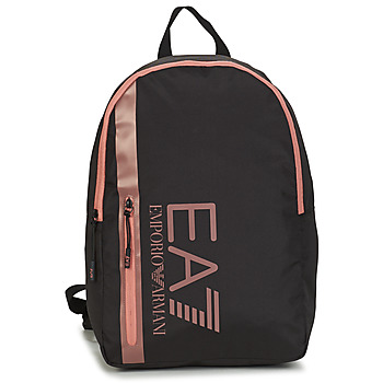Sacs Femme Sacs à dos Emporio Armani EA7 TRAIN CORE U BACKPACK B Noir / Rose