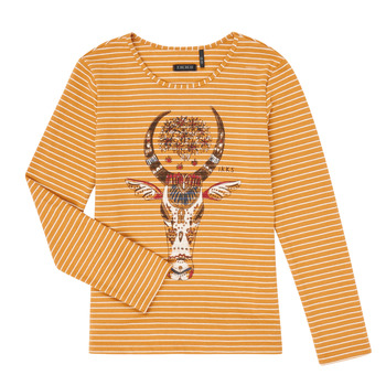 Vêtements Fille T-shirts manches longues Ikks XR10102 Marron