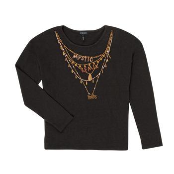 Vêtements Fille T-shirts manches longues Ikks XR10122 Noir