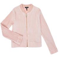 Vêtements Fille Gilets / Cardigans Ikks XR17022 Rose