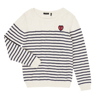 Vêtements Fille Pulls Ikks XR18032 Blanc