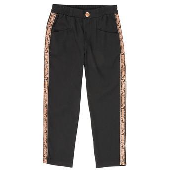 Vêtements Fille Pantalons 5 poches Ikks XR22012 Noir