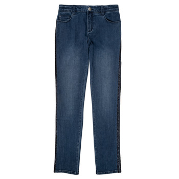 Vêtements Fille Jeans slim Ikks XR29062 Bleu