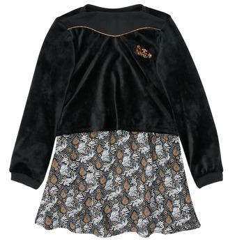Vêtements Fille Robes courtes Ikks XR30162 Noir