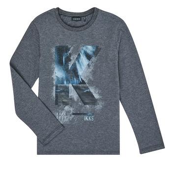 Vêtements Garçon T-shirts manches longues Ikks XR10203 Gris