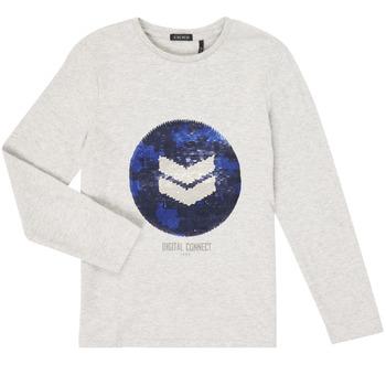 Vêtements Garçon T-shirts manches longues Ikks XR10273 Gris