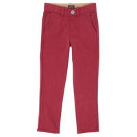 Vêtements Garçon Pantalons 5 poches Ikks XR22093J Rouge