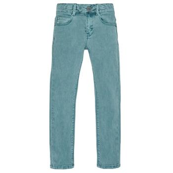 Vêtements Garçon Jeans slim Ikks XR29013 Vert
