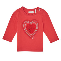 Vêtements Fille T-shirts manches longues Ikks XR10010 Orange