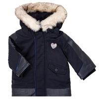 Vêtements Fille Parkas Ikks XR42000 Bleu