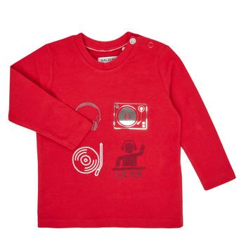 Vêtements Garçon T-shirts manches longues Ikks XR10011 Rouge