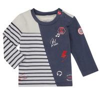 Vêtements Garçon T-shirts manches longues Ikks XR10041 Blanc