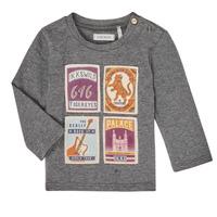 Vêtements Garçon T-shirts manches longues Ikks XR10081 Gris