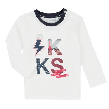 Vêtements Garçon Ensembles enfant Ikks XR36001 Blanc