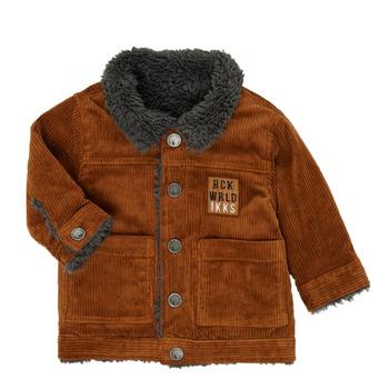 Vêtements Garçon Blousons Ikks XR40051 Marron