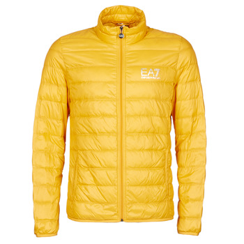 Vêtements Homme Doudounes Emporio Armani EA7 TRAIN CORE ID M DOWN LIGHT JACKET Jaune