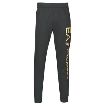 Vêtements Homme Pantalons de survêtement Emporio Armani EA7 TRAIN LOGO SERIES M PANTS Noir