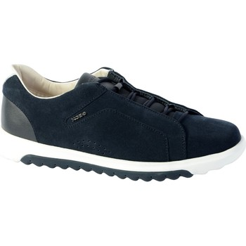 Chaussures Homme Baskets basses Geox Basket U Nexside A - Suede Navy