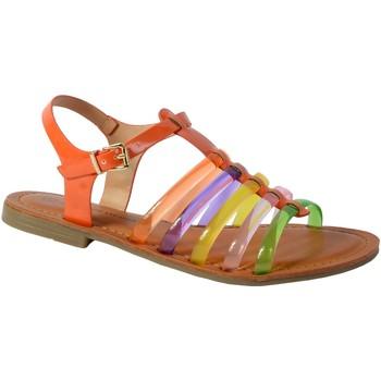 Chaussures Femme Sandales et Nu-pieds The Divine Factory Sandale Orange