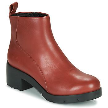 Chaussures Femme Bottines Camper WND0 Bordeaux