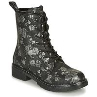 Chaussures Femme Boots Dockers by Gerli 45PN201 Noir