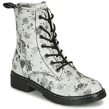 Chaussures Femme Boots Dockers by Gerli 45PN201 Blanc