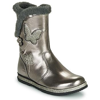 Chaussures Fille Bottes ville Chicco CAMPANELLA Argenté