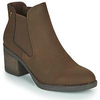 Chaussures Femme Bottines Chattawak TEXAS Marron