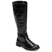 Chaussures Femme Bottes ville Chattawak ALABAMA Noir