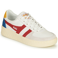 Chaussures Femme Baskets basses Gola GRANDSLAM TRIDENT Blanc / Rouge