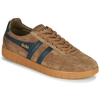 Chaussures Homme Baskets basses Gola HURRICANE Marron / Marine
