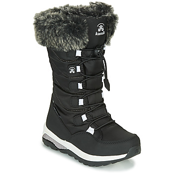 Chaussures Fille Bottes de neige KAMIK PRAIRIE Noir