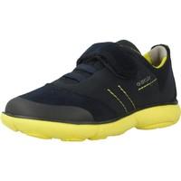 Chaussures Garçon Baskets basses Geox J NEBULA BOY Bleu