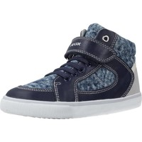 Chaussures Garçon Baskets montantes Geox B KILWI BOY Bleu