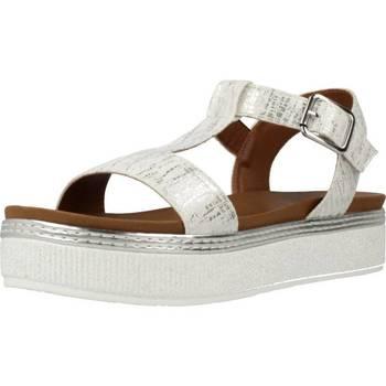 Chaussures Femme Sandales et Nu-pieds Café Noir GC913 Argent