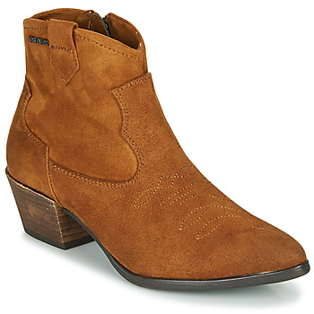 Chaussures Femme Bottines Tom Tailor 90302-COGNAC Cognac