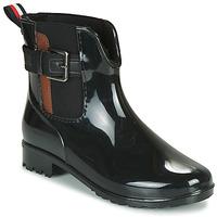 Chaussures Femme Bottes de pluie Tom Tailor  Noir