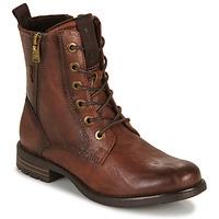Chaussures Femme Boots Tom Tailor 93303-COGNAC Cognac