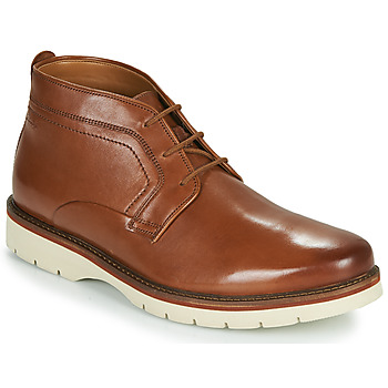 Chaussures Homme Boots Clarks BAYHILL MID Camel