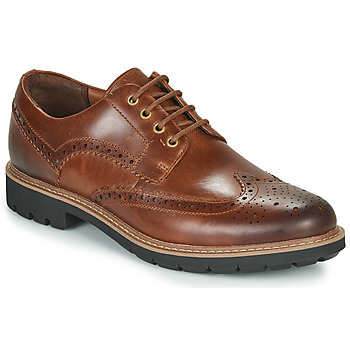 Chaussures Homme Derbies Clarks BATCOMBE WING Camel