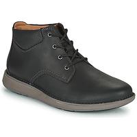 Chaussures Homme Derbies Clarks UN LARVIK TOP2 Noir