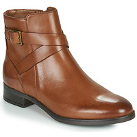 Chaussures Femme Boots Clarks HAMBLE BUCKLE Marron