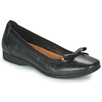 Chaussures Femme Ballerines / babies Clarks UN DARCEY BOW Noir