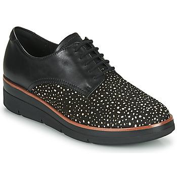 Chaussures Femme Derbies Clarks SHAYLIN LACE Noir