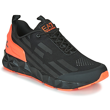 Chaussures Homme Baskets basses Emporio Armani EA7  Noir / Orange